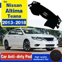 for nissan altima teana l33 2013 2014 2015 2016 2017 2018 anti slip mat dashboard cover pad sunshade dashmat carpet accessories