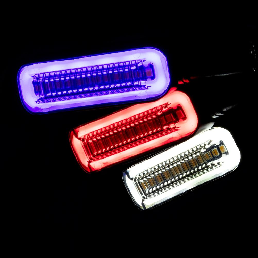 1 par de luces de indicador LED de señal de giro para motocicleta, lámpara de señal de giro dinámica LED, luz para motocicleta