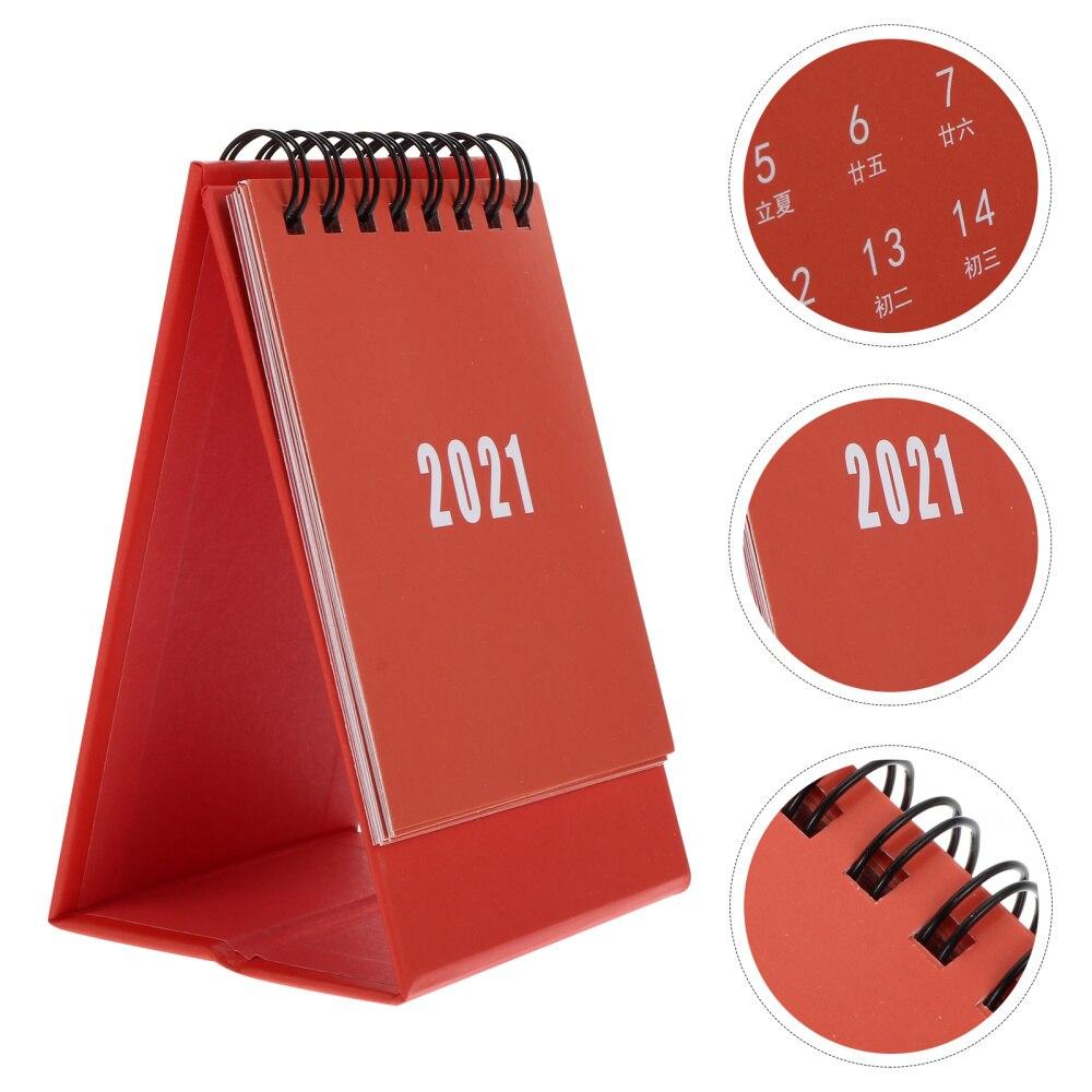 3PCS Mini Desk Calendar School Home Office Schedule Planner Desk Calendar недорого
