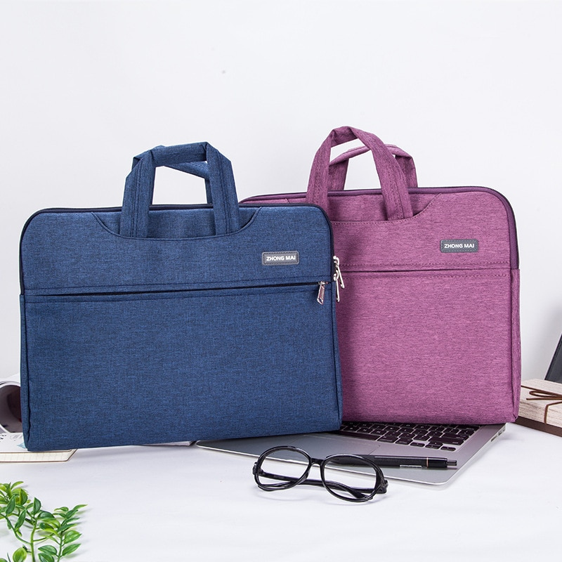 Bolsa De recepción multifunción impermeable, bolsa De tela Oxford para ordenador, maletín...