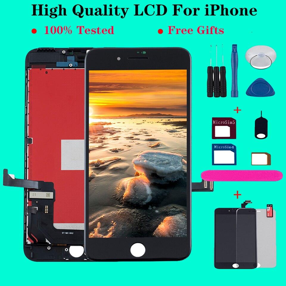 AAA + ÉCRAN LCD Pour iPhone 6 6S 7 8 Plus Écran Tactile Numériseur Pour iPhone X 5s XR XS MAX OLED écran pantalla DAFFICHAGE À CRISTAUX LIQUIDES de Téléphone Portable