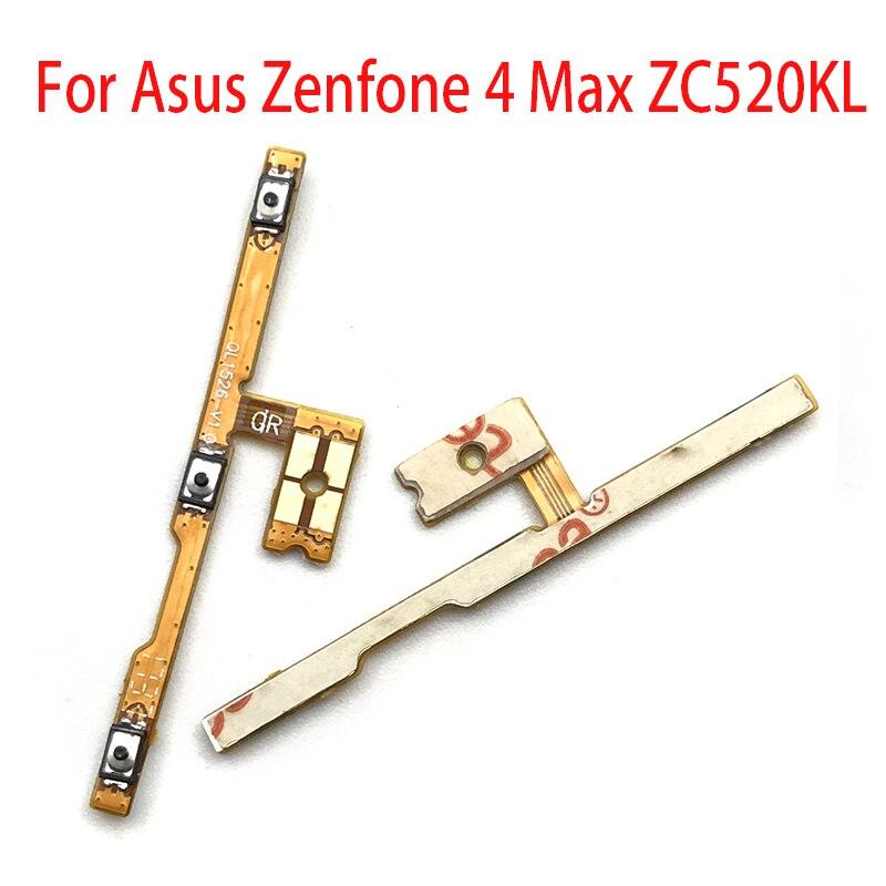 Nouveau pour Asus Zenfone 4 Max adaptateur Volume interrupteur marche arrêt bouton clé câble flexible