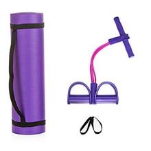 Fitness Yoga sport costume Yoga tapis Sit-up tendeur deux pièces Yoga fournitures auxiliaires élastique Pull Ropesstrap filet sac