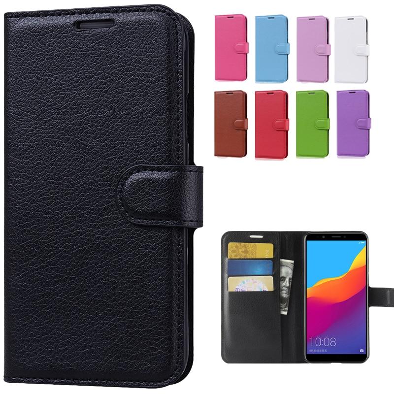 Flip Case For Huawei Honor 7C Case Honor 7C 5.7 AUM-L41 Wallet Phone Case For Honor 7C Pro LND-L29 T