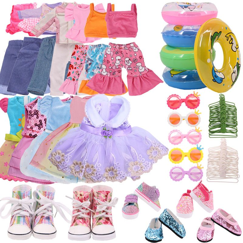 Фото - Одежда для кукол 1 комплект = 7 шт. Одежда для кукол аксессуары для обуви для 14,5 дюймов куклы и BJD EXO куклы и 32-34 см кукла Паола Рейна наше поколе... куклы и одежда для кукол disney princess кукла белоснежка