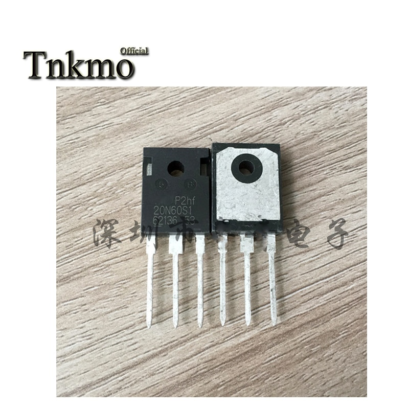 10 Uds FMW20N60S1-247 20N60S1 20N60 TO247 20A 600V transistor MOSFET entrega gratuita