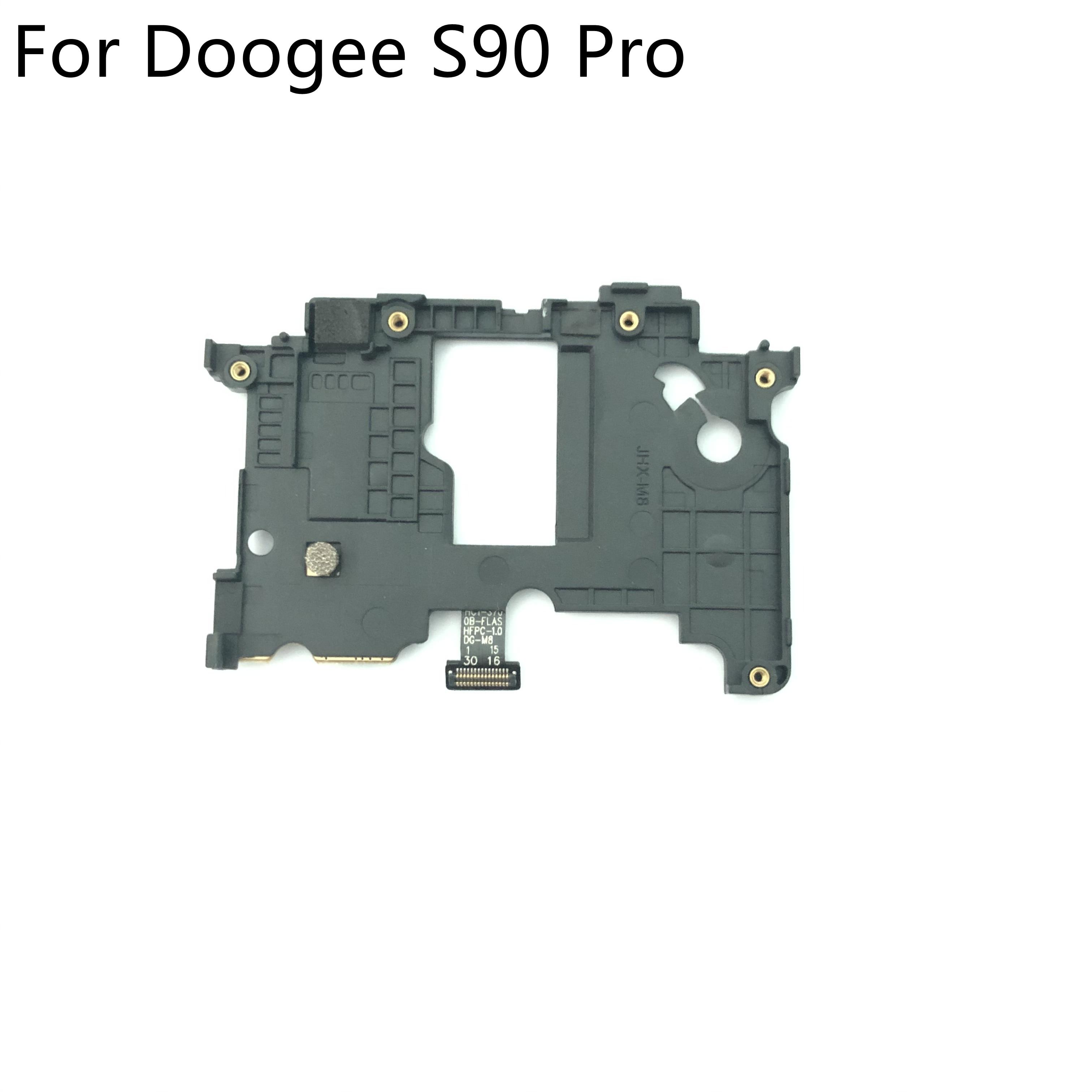 "Doogee s90 pro usado back frame caso escudo para doogee s90 pro mt6771 córtex 2246*1080 6.18 ""smartphone"