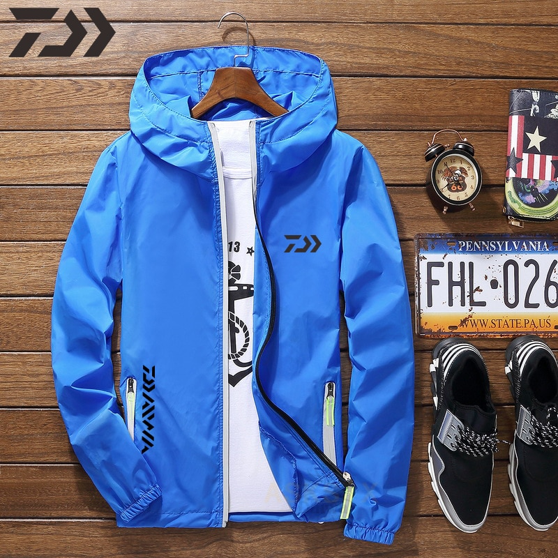 AliExpress - New Summer UV Protection Fishing Shirt Daiwa Hoodie Breathable Quick Dry Fishing Jacket Thin Outdoor Sport Fishing Clothing Wear