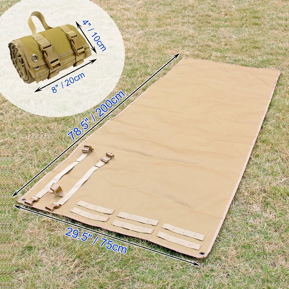 Тактический складной коврик для стрельбы, Тренировочный Коврик для стрелков, коврик из высококачественной нейлоновой ткани для отдыха на п...