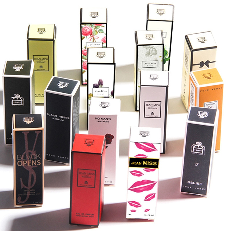 3ml New Brand Perfume For Women Men Atomizer Beautiful Packaging Fashion Sexy Lady Sample Perfume Lo