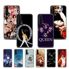 Housse pour Honor 9C 9S 9A 8X 9X 10 Lite 20 Lite 20 Pro 8A 2020 Prime 20S Play Phone Fundas Freddie Mercury Queen Band