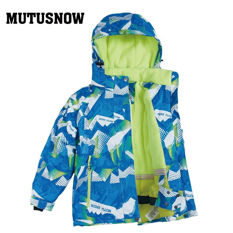 Children's Ski Suit BOY'S Snowboard Outdoor Waterproof Windproof Warm Anorak