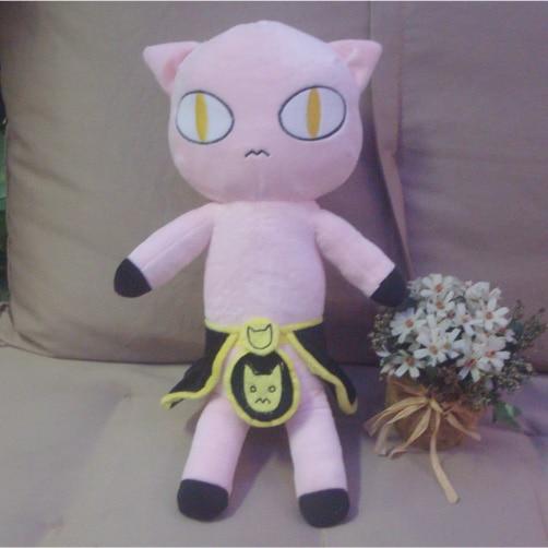 Anime la extraña aventura de Jojo de peluche de juguete Kira Yoshikage asesino reina cosplay felpa muñeca 45cm alta calidad almohada juguete para regalo