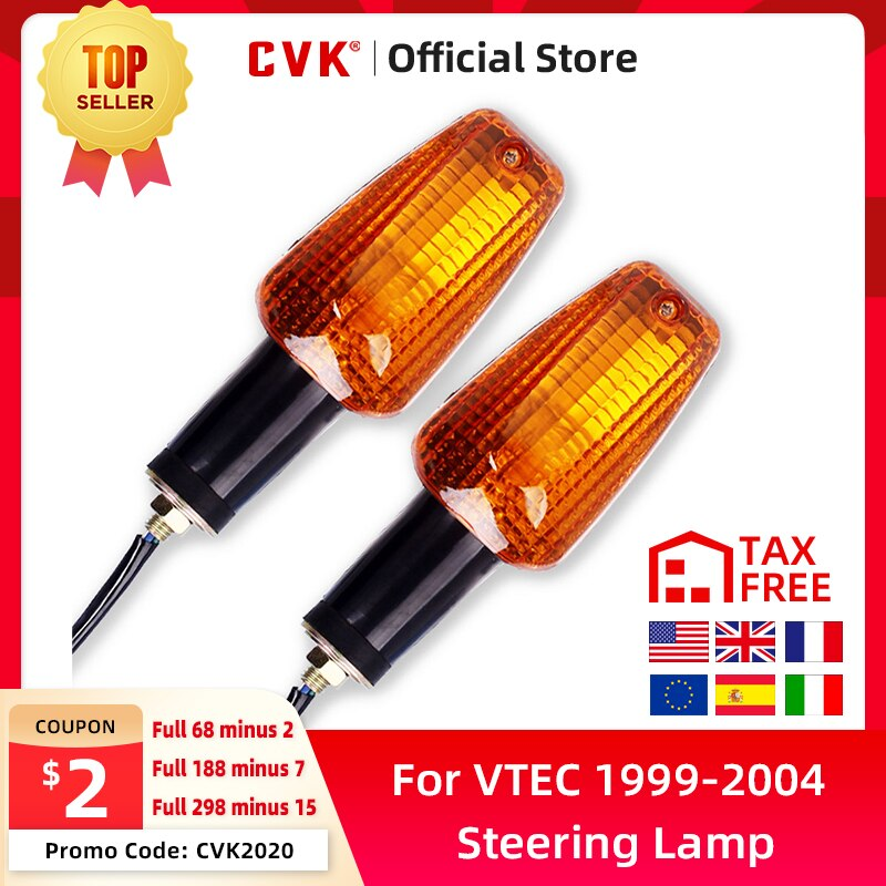 Фото - CVK 1 Pair steering lamp Cornering Turn Signals Indicator Light Front And Rear For HONDA CB400 1999-2004 CBR919 Hornet900 CB1300 for honda cb900 cb919f hornet900 2002