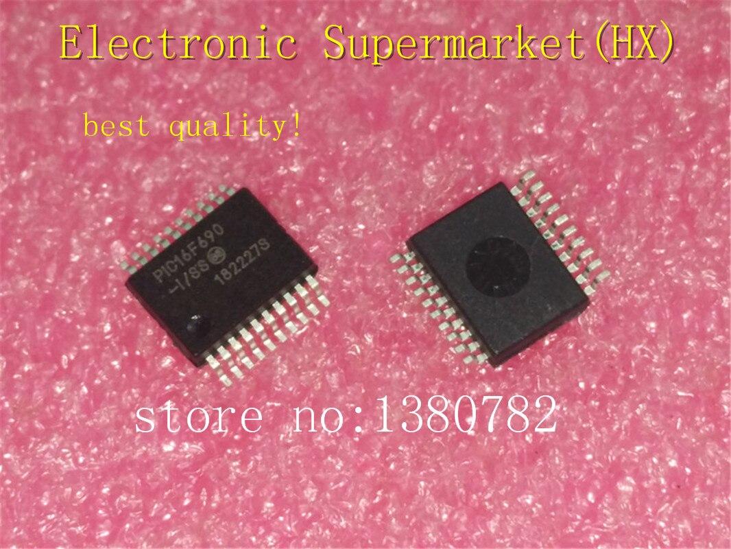 ¡Envío gratis 10 unids/lote PIC16F690-I/SS PIC16F690 SSOP-20 IC en stock!