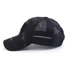 Casquette de filet de chasse tactique armée chapeau Sport casquette militaire à rayures casquette de Camouflage simplicité armée casquette de Camouflage