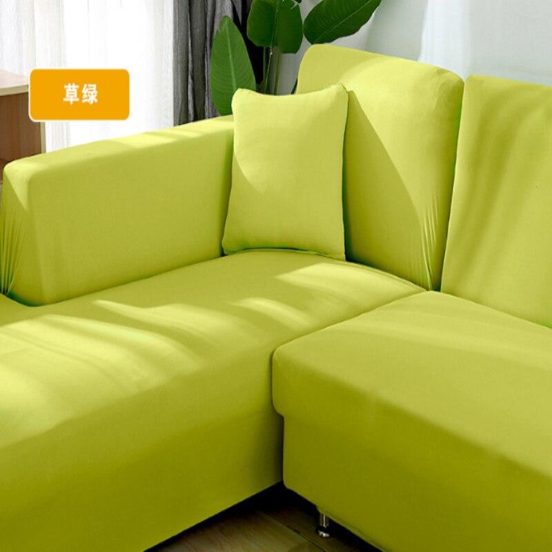Dehnbar L Geformt Slip Sofa Elastische Abdeckung Hause Textil 3 Sitze Anti-Slip Flexible Wohnzimmer Schutzhülle Sofa Arm abdeckungen