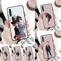danganronpa v3 phone case for huawei mate 30 pro p20 p30 p40 pro lite y7 y6 2019 case for honor 8x 8a 10 20lite 10i