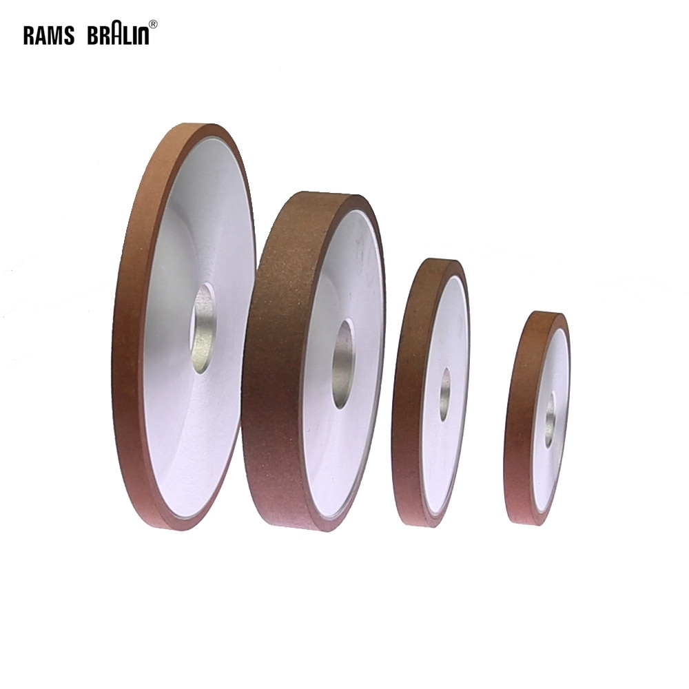 75/100/125/150mm Flat Diamond Abrasive Grinding Wheel for Alloy Steel Ceramic Glass Jade CBN Grinding