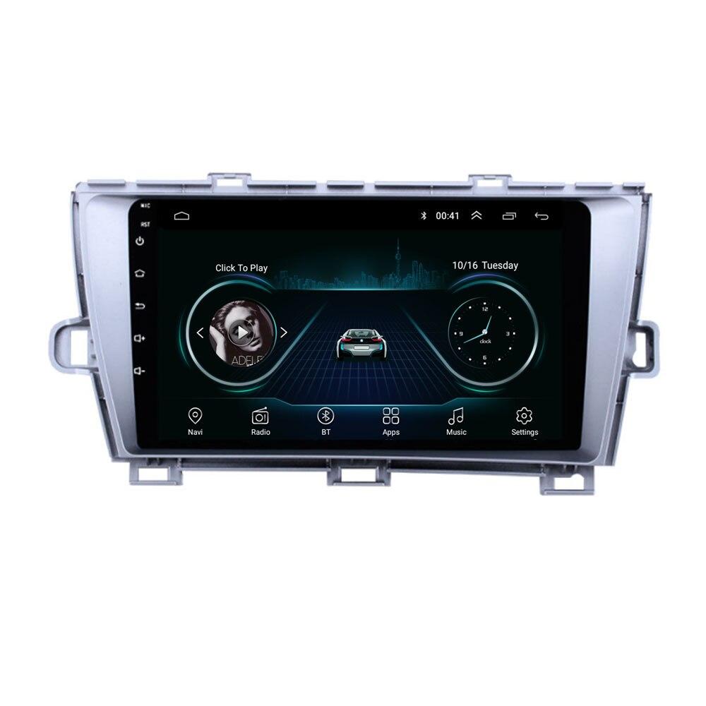 Reproductor Multimedia estéreo para coche 4G LTE, Android 10,1 para Toyota Prius 2009 2010 2011 2012, navegación, Radio GPS, sin DVD
