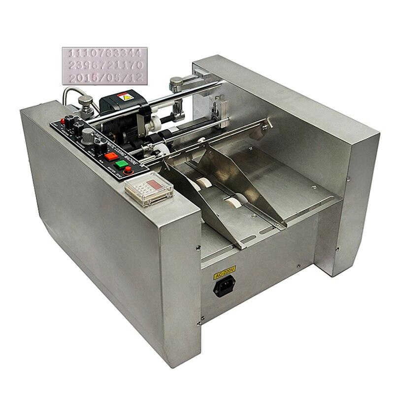 Impresora de fecha de caducidad MY-300 impress o máquina de impresión de código de rueda de acero de codificación de tinta sólida