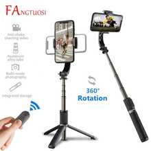 FANGTUOSI Handheld Gimbal Stabilizer Mobile Phone Selfie Stick Gimbal Holder Selfie Stand For iOS/Android Smartphone Camera