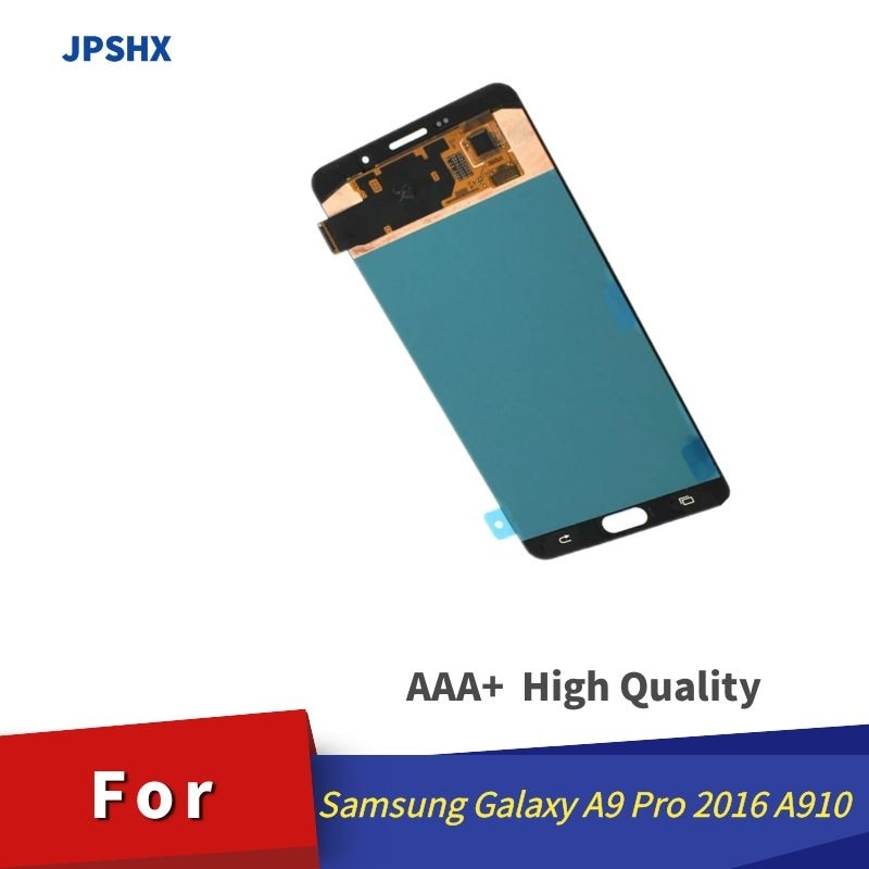 100% LCD لسامسونج غالاكسي A9 برو LCD 2016 A910 A9100 A910F/DS عرض شاشة تعمل باللمس استبدال