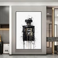 modern graffiti perfume bottle canvas painting wall art posters and prints inspiration artwork pictures living room home decor