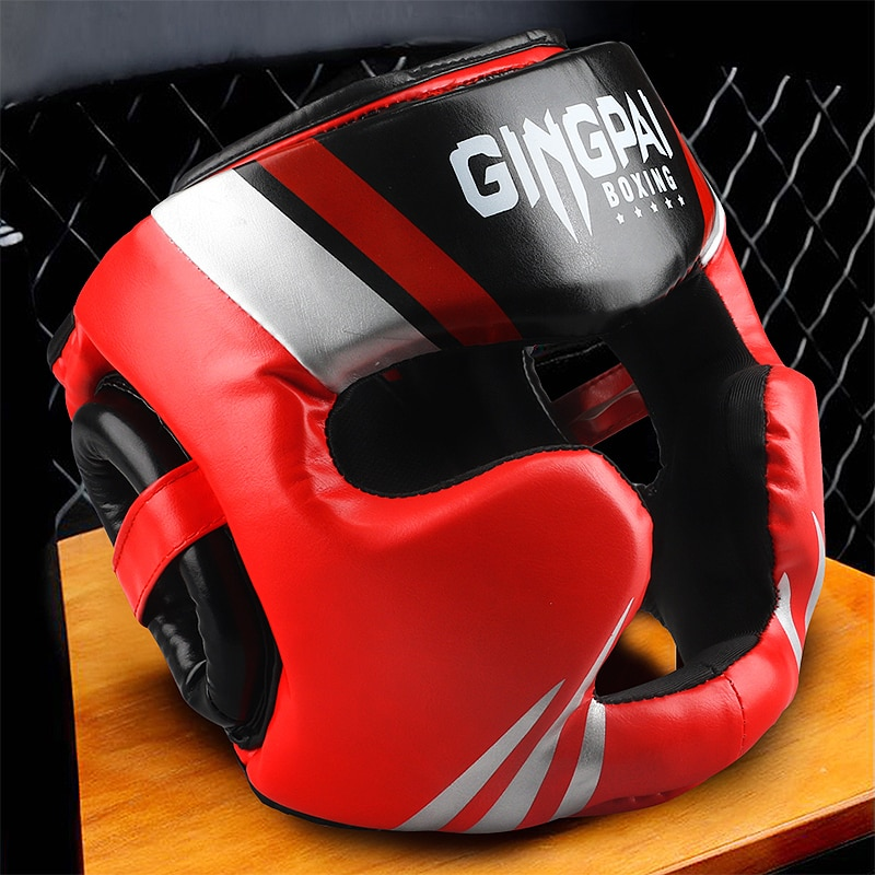 Promotion Boxing MMA safety Helmet head gear protectors adult Child training headgear Muay thai kick