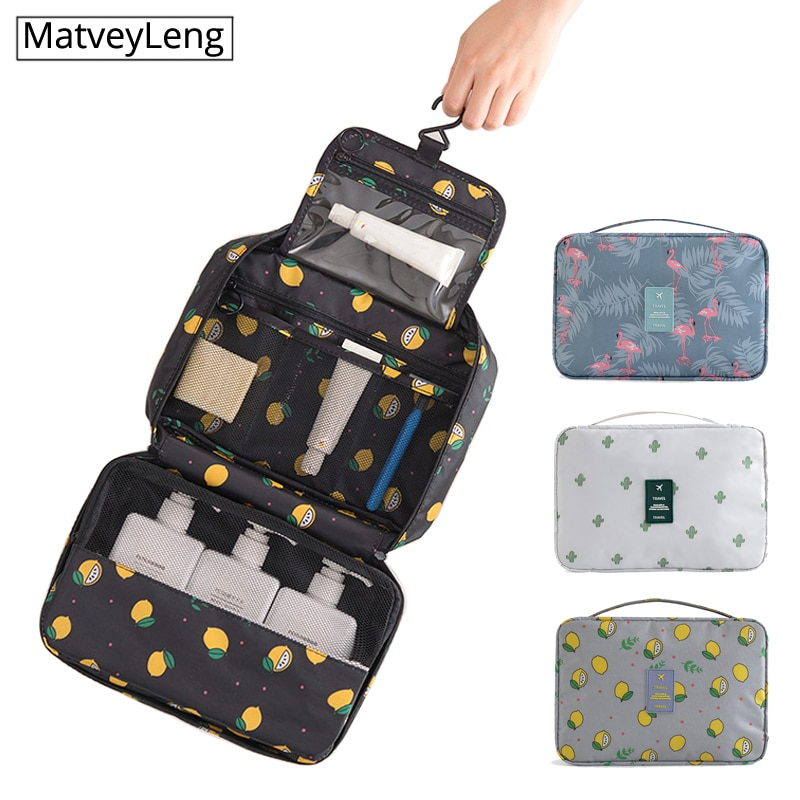 New Travel Packing Organizers wash bag Makeup Cosmetic Toiletry Case Wash Organizer Storage Pouch Hanging Bag Accessories