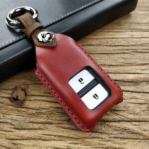 Для Honda Civic CR-V HR-V Accord Jade Crider Odyssey смарт-ключ автомобиля Caover чехол Брелок держатель кожаный смарт-ключ аксессуары