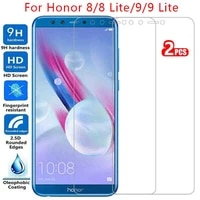 protective tempered glass for huawei honor 8 9 lite screen protector on honor8 honor9 honer onor 8lite 9lite light safety film