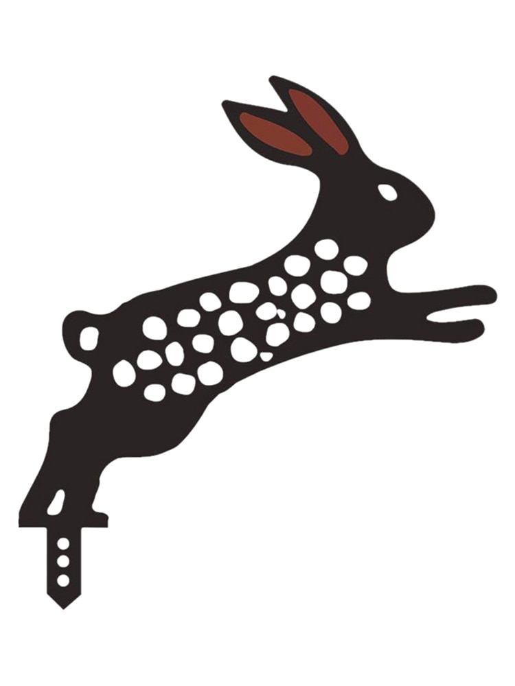 Кролик украшения двора кролик Двор украшение Пасхальный кролик садовые украшения к атмосферным воздействиям кролик двор арт кролик украше...