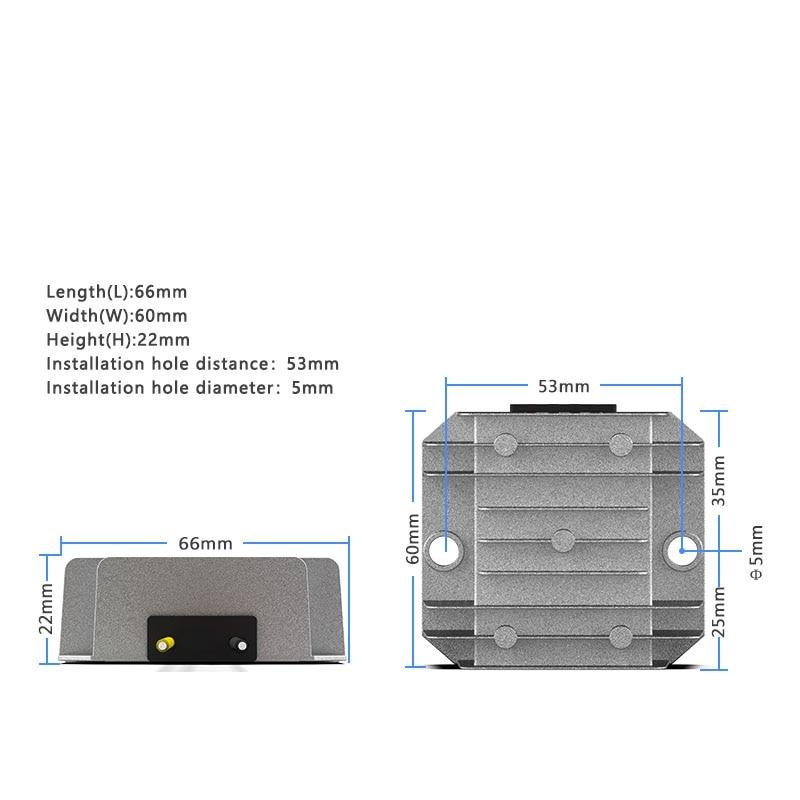 Купить с кэшбэком 12V to 24V 1A 2A 3A DC power converter 12V to 24V vehicle power boost module transformer CE RoHS