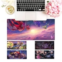 promotion league of legends gaming mouse pad gaming mousepad large big mouse mat desktop mat computer mouse pad for overwatch
