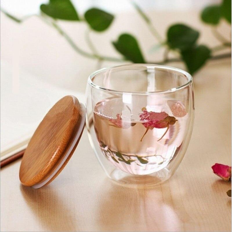 50 peças tampa do copo feita de bambu