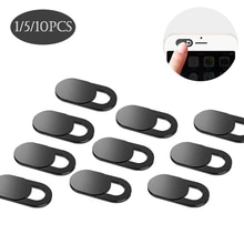 1/5/10pcs Webcam Cover Universal Mobile Phone Antispy Camera Cover Pad for Smartphone Tablet Laptop