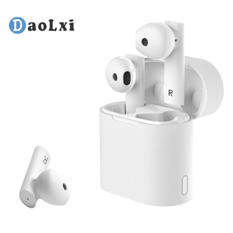 Auriculares Bluetooth DaoLxi inalámbricos con caja de carga, Auriculares deportivos de alta fidelidad IPX4 resistentes al agua para IOS/ANDROID/WINDOWS
