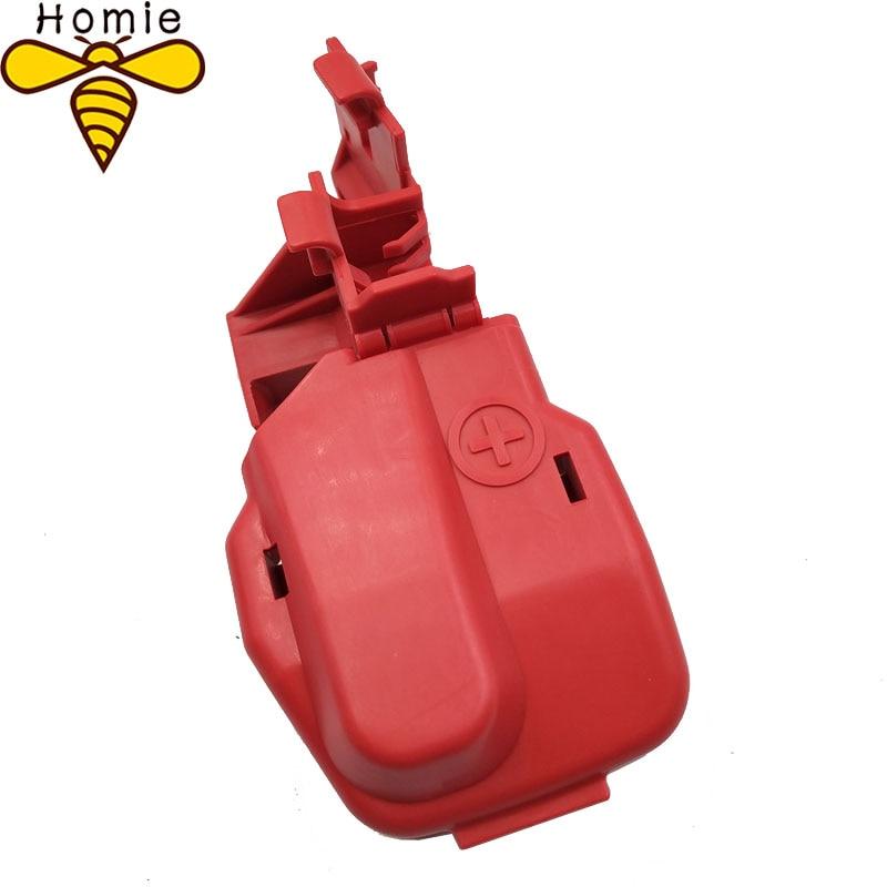 Frete Grátis! Vermelho novo para honda bateria positiva cabo terminal capa 32418rbg300 32418-rbg-300