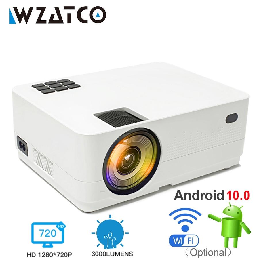 WZATCO HD 720P HD 150 pulgadas Mini portátil 3D LCD LED Proyector...