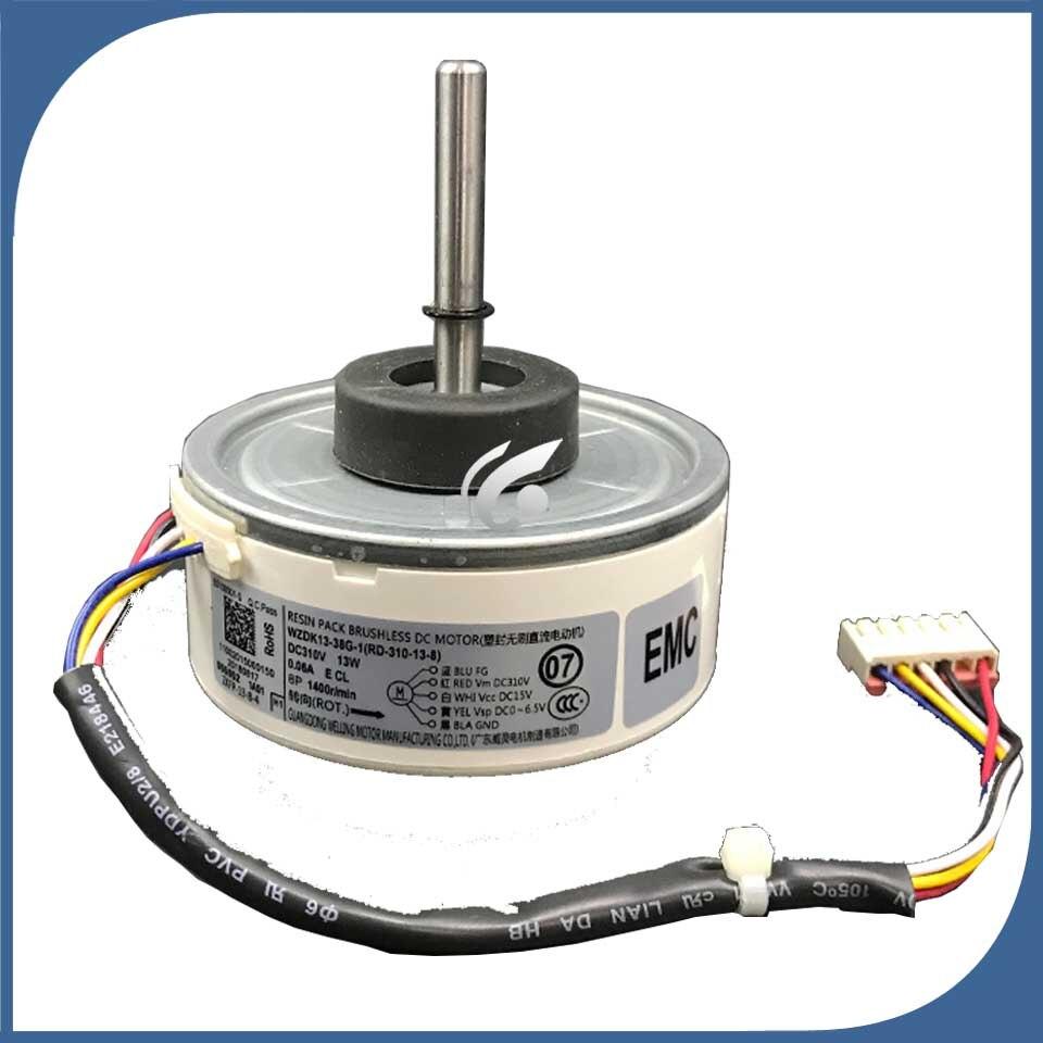 new good working for Air conditioner inner machine motor WZDK13-38G-1(RD-310-13-8) 220V Motor fan