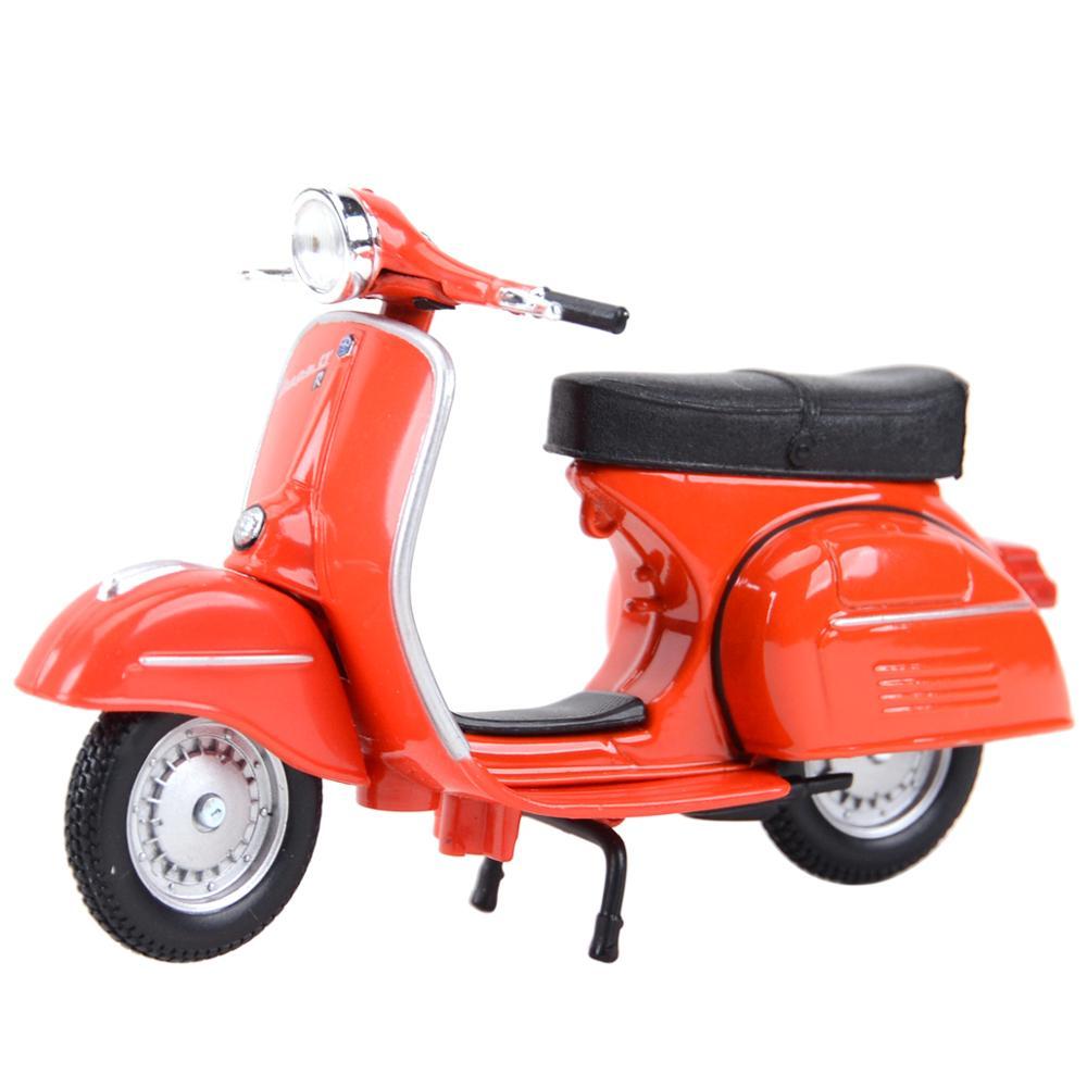 Maisto 1:18 Piaggio Vespa статического Литой Транспортных средств Коллекционная хобби модель мотоцикла, игрушки римское праздничное Сбор подарков Модели коллекционные      АлиЭкспресс