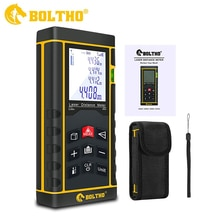 Mesure Laser 131Ft/40M/In/Ft télémètre Laser avec niveau à bulle, BOLTHO Portable haute précision et écran LCD rétroéclairé