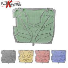 Protecteur de calandre pour Kawasaki Ninjia 2011 2012 2013   7 couleurs, protection de radiateur en aluminium, ZX 10R ZX10R 2014 2015 2016