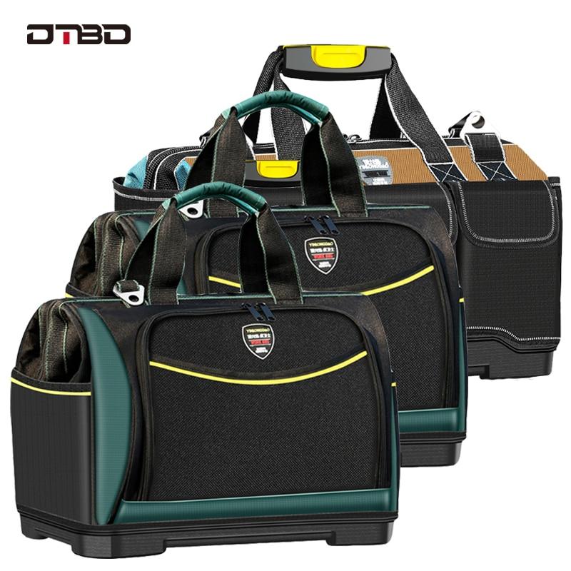 DTBD Multifunction Tool Bag Large Capacity Thicken Professional Repair Tools Bag 13/16/ 18/20 Inch Toolkit Bag Tools Organizer