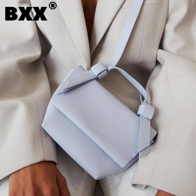 [BXX] المرأة واحدة الكتف حقيبة كروسبودي كل مباراة رفرف 2021 صغيرة العلامة التجارية مصمم المد الإناث موضة بو الجلود حزمة HG644