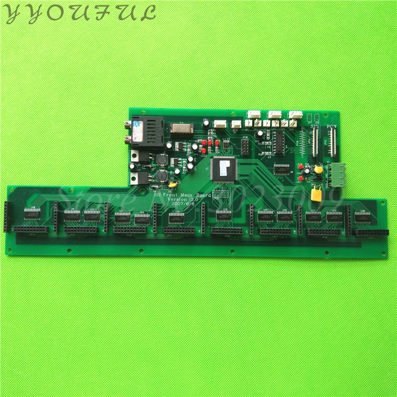 Impresora solvente UV para placa de cabezal de impresión Seiko Infinity Challenger Phaeton FY-3206 3208, tarjeta de fibra óptica SPT510
