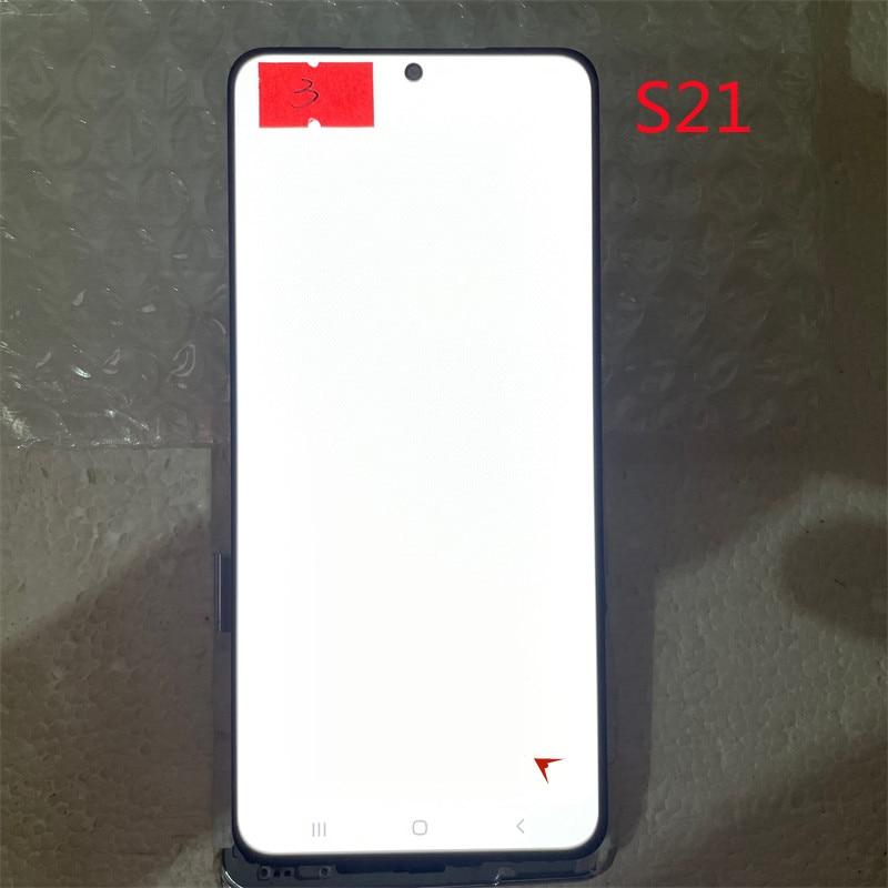 Original Super AMOLED Display Touch Screen For Samsung Galaxy S21 5G G990F G991F G991U Lcd Display Screen Defect Screen enlarge