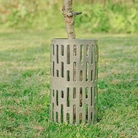 3pc plant tree trunk protector plant protection cover prevent mowing machine lawn mower rodent sun damaging bark durable