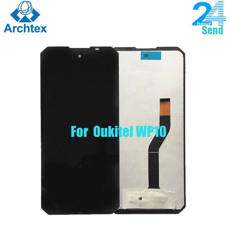 6.67 بوصة FHD + ل OUKITEL WP10 الأصلي شاشة الكريستال السائل مجموعة المحولات الرقمية لشاشة تعمل بلمس استبدال أجزاء أندرويد 10.0